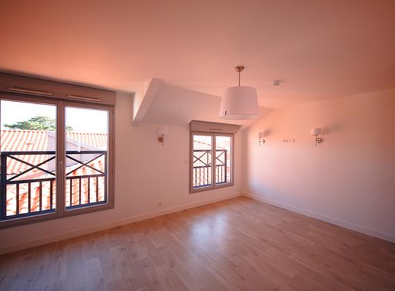 Résidence locative Asur intérieur d'un appartement